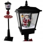 Snowing LED lantern ca. 180 cm with christmas tree, indoor and outdoor