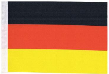 wahlweise mit oder ohne 42 cm Massivholz Mecklenburg Tischflagge 15x25 cm in Profiqualit/ät Tischst/änder