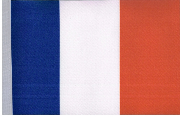 Table Flags France ca. 15 x 22,5 cm by profimaterial