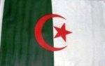 Algeria flag ca. 1 ft by 1,5 ft (ca. 30 x 45 cm )