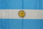 Argentina flag ca. 1 ft by 1,5 ft (ca. 30 x 45 cm ) - Kopie