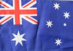 Australia Flag ca. 1 ft by 1,5 ft (ca. 30 x 45 cm )