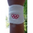 Olympia Armband Weiss profimaterial (1 Stck.)