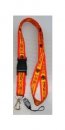 Spain España Lanyard, key chain with hook for your ID card, mobile and what ever you want from profimaterial