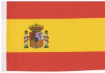 Table Flags Spain ca. 15 x 22,5 cm by profimaterial