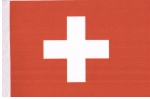 Table Flags Switzerland ca. 15 x 22,5 cm by profimaterial