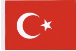 Table Flags Turkey ca. 15 x 22,5 cm by profimaterial